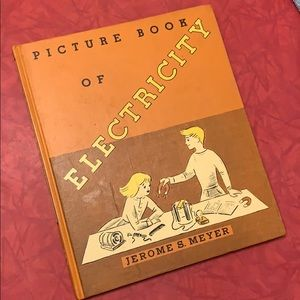 RARE 1953 Picture Book of Electriciry